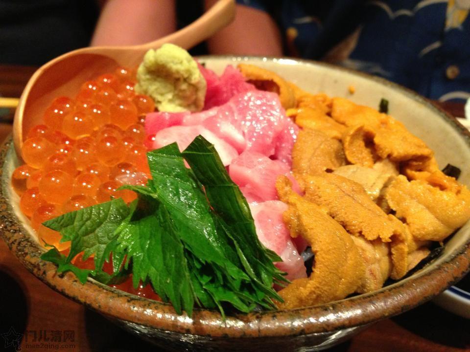 菜单:海鲜散寿司饭 - 海鮮丼(かいせんどん)