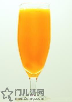鸡尾酒: 朦胧脐橙(Fuzzy navel)