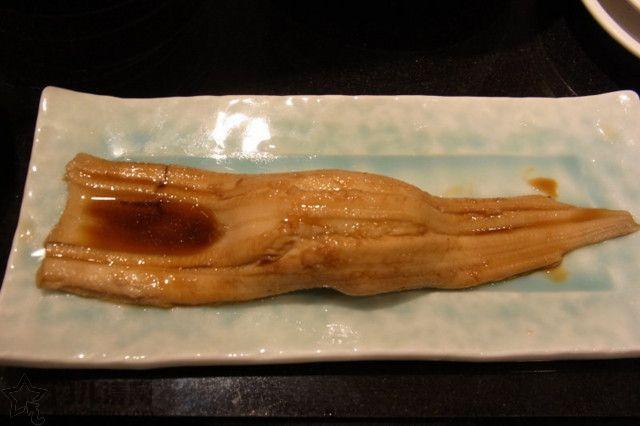 菜单:寿司-煮星鳗(煮穴子)