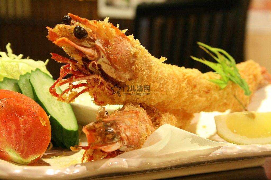 菜单:炸虾排(海老フライ)