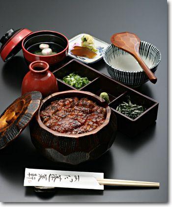 日本郷土料理百选 爱知 蒲烧鳗鱼拌饭(ひつまぶし)乡土料理 图