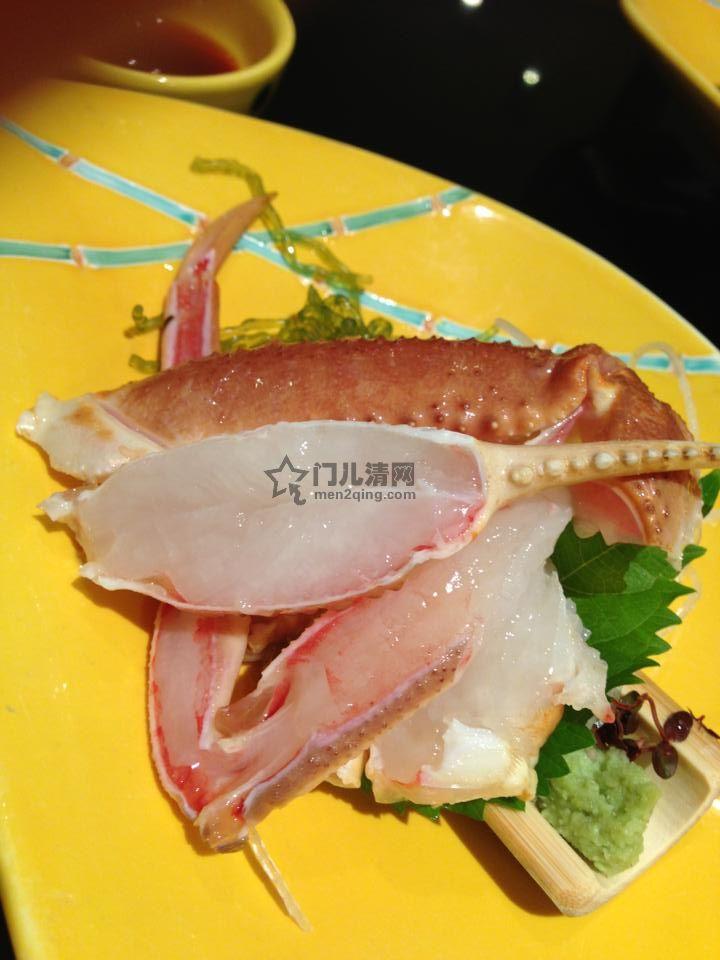 菜单:刺身-螃蟹刺身
