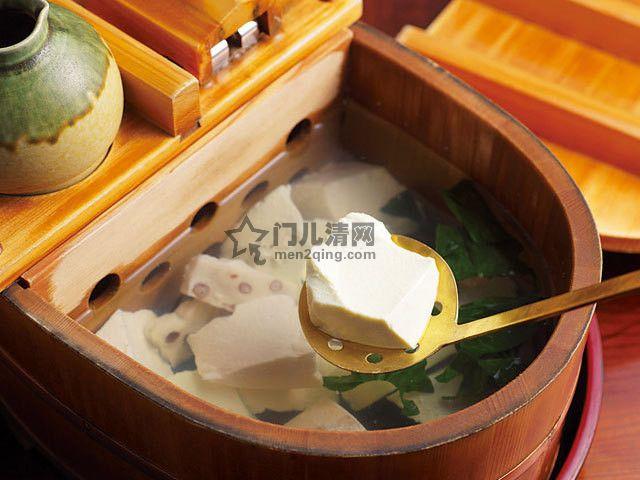 菜单:名物料理-汤豆腐