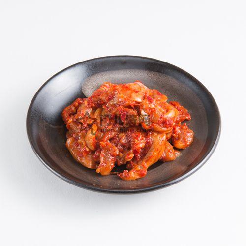 菜单:香辣鳕鱼杂(チャンジャ)