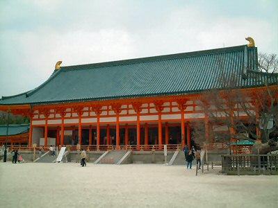 日本料理的变迁 平安神宫 图