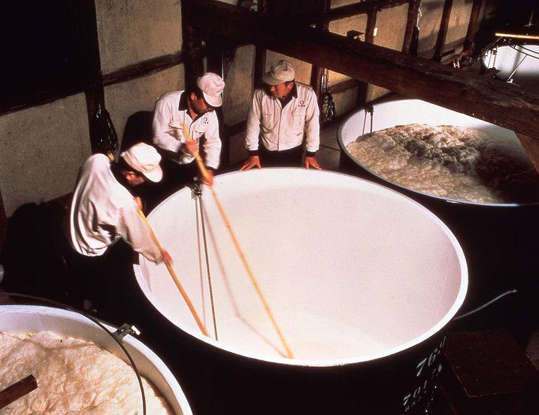 日本酒(清酒)的制法