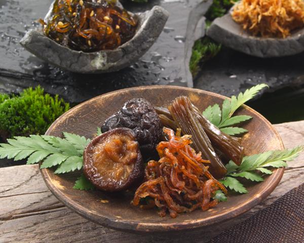 传统日本料理法-佃煮(つくだに)