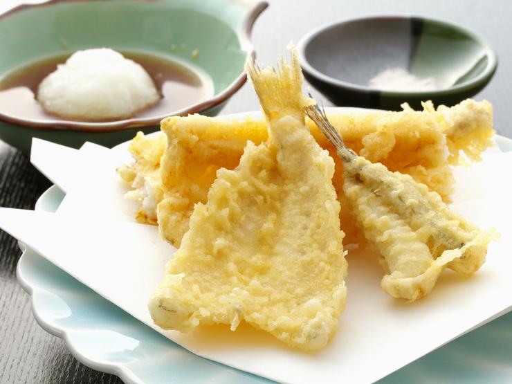 菜单:天妇罗-鱚鱼(きす)